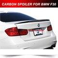 F80 M3 DE FIBRA DE CARBONO PARA BMW F30 3-Series Tronco Spoiler Chute Alto Desempenho 12-15