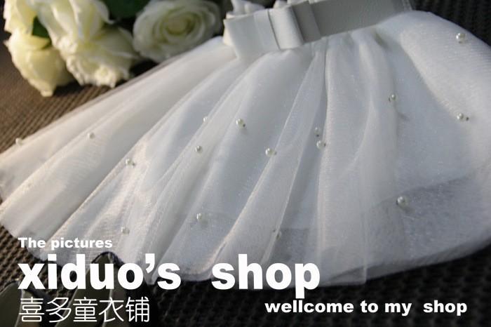 Sweet Girl Bow Tutu Skirt Babay Girl Princess Bow Gown Skirt (10)