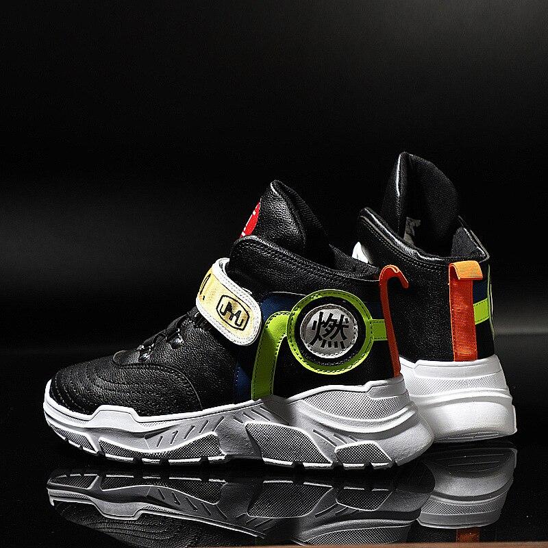 Sneakers Hop Mâle Super Espadrilles Hauts Adulte Hiver De Sports Papa Hommes Hip Loisirs Chaussures Ins Noir Règne ivoire Des Mode Automne UxgZfwqAWw