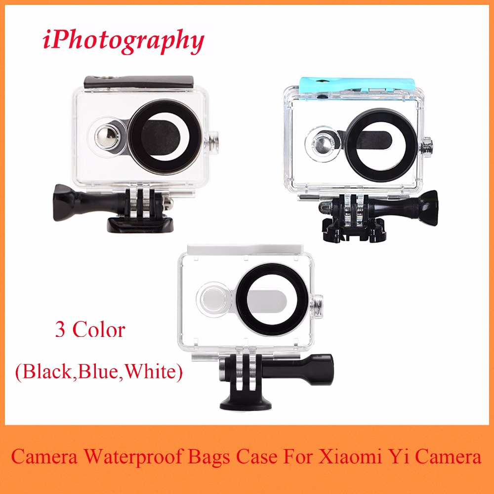 For Xiaomi Yi Waterproof Case 40M Underwater Diving Sports Waterproof Box For Xiaomi yi Action camera