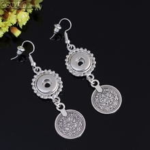 12mm Ginger snap jewelry Earrings interchangeable jewelry charm Round symbol Earrings 1pair Free Shipping Cousin Jewelry