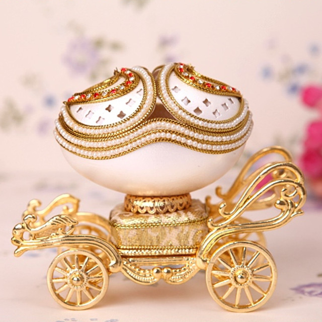 Royal egg Musical Jewelry Box Music Box Music Box Girls Birthday