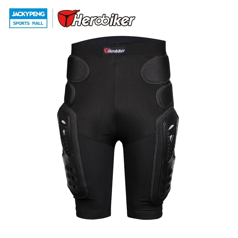 HEROBIKER Overland Motorcycle Armor Shorts Motocross Protection Riding Racing Equipment Ski Skateboard Shorts Hip Leg Protector