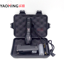 Gift Box CREE XML T6 3800LM Tactical Led Flashlight Powerful Rechargeable Led Lamp Torch Lantern Police Light By 18650 / 3 x AAA