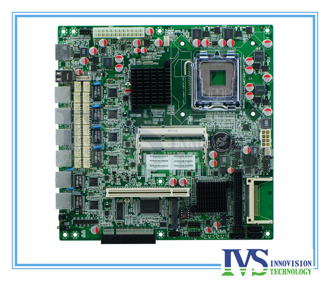 FW-G41XE 6*Intel82574L Six Gigabit Ethernet LGA771 Firewall/network Moterboard Bypass