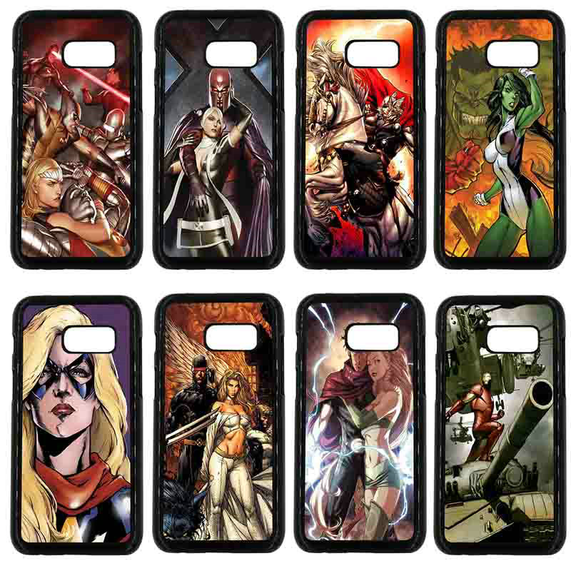 Cartoon Hero Justice Alliance Phone Cases for Samsung Galaxy A3 A5 A7 A8 2015 2016 2017 2018 Hard PC Cover Note 8 5 3 2 Shell