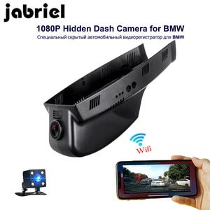 Image 1 - Jabriel câmera de vídeo para carro, 1080p, wi fi, escondida, dvr, para bmw 3/5/7/x3/x5 e46 e60 e90 e70 e71 e81 e83 e84 f01 f10 f20