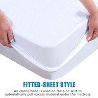 LFH Customized 100% Waterproof best selling beautiful jacquard cloth waterproof pillowcase/mattress protector kid's bed