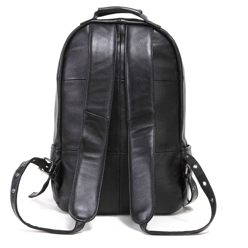 Bagaj ve Çantalar'ten Sırt Çantaları'de AETOO deri erkek omuzdan askili çanta kafa katman deri sırt çantası moda trendi çantası iş bilgisayar çantası'da  Grup 3
