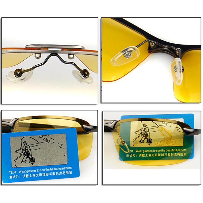 DANKEYISI Nya polariserade nattvisionsglasögon Solglasögon - Kläder tillbehör - Foto 6