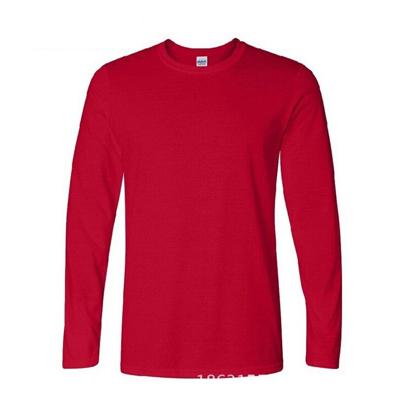 Aliexpress.com   Buy Classic Men T shirt Long Sleeve O neck Mens T shirt  Cotton Tees Tops Mens Brand tshirt Plus size XS XXL Sweatshirts 2019 Black  from ... b67183fe401