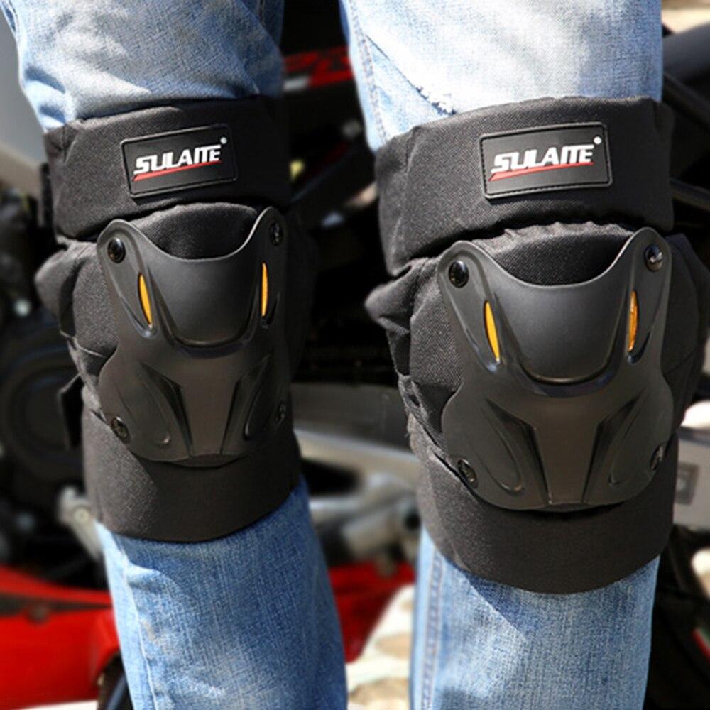 2 шт. мотоциклетные Панцири защитный кожух наколенники off-road racing Неломающийся ветрозащитный дышащие черные туфли протектор