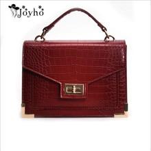 Bolsa Mujer Bags For Women 2019 Luxury Handbags Women Bags Designer Crocodile Pattern Leather Shoulder Messenger Bag sac a main все цены