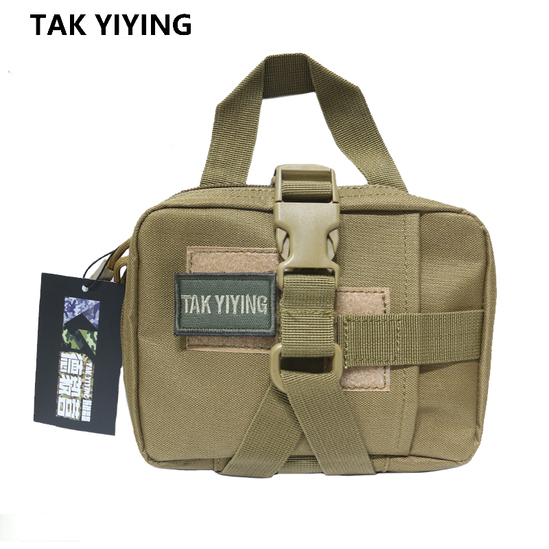 TAK YIYING Outdoor Hunting Emergent Pouch First Aid Kit Combat MOLLE Medical Bag Quick Detach EMT First Aid Pouch