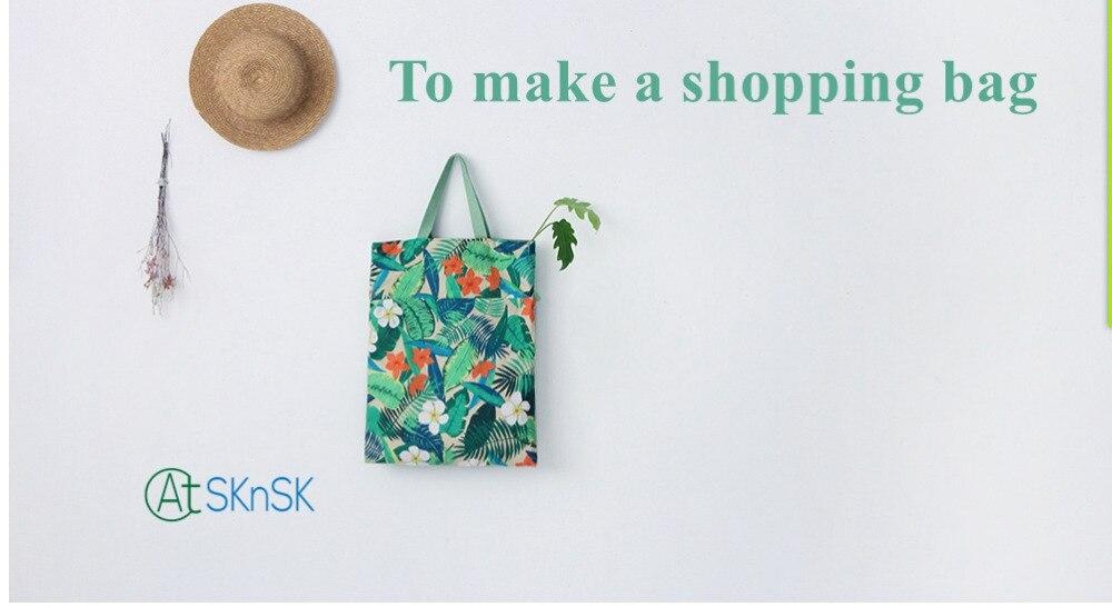 145*100 cm tela barata de alta calidad DIY costura hawaiana selva ...