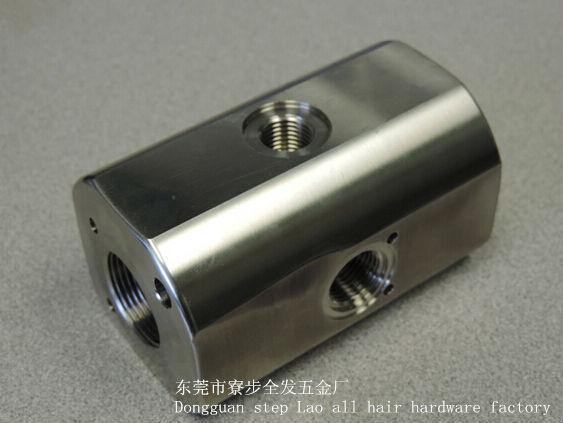 Le prototype rapide adapté aux besoins du client de matériel en métal/plastique/acier inoxydable CNC le Prototype en aluminium de pièces de fraisage, peut petit orde