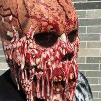 Zombie Đảng Movie Cosplay Đáng Sợ Masquerade Máu Zombie Lễ Hội Ma Ngôi Nhà Ma Ám Kinh Dị Đạo Cụ Sự Thay Đổi Mask đối với Đảng