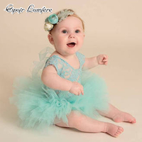 3pcs Set Newborn Baby Tutu Girl Lace Romper Toddler Skirt Princess Infant Photography Props Baby Costume Photographie Headband