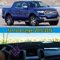 Dashmats car-styling accesorios del coche del tablero de instrumentos cubierta para Ford Ranger 2015 2016