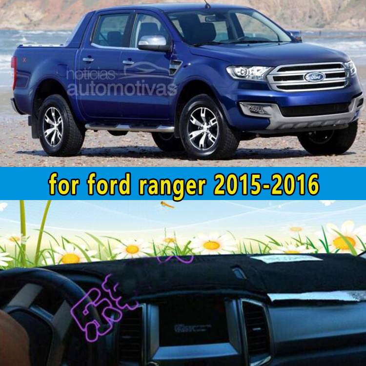 цена на car dashmats car-styling accessories dashboard cover for Ford Ranger 2015 2016