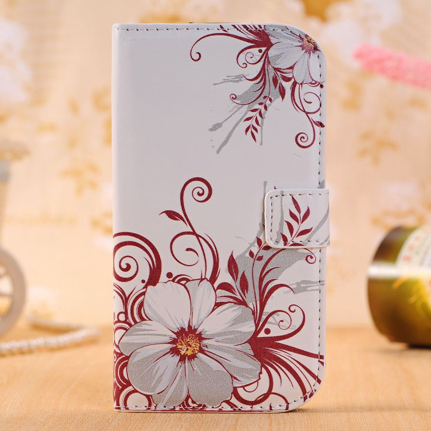 Fashion Leather Wallet Phone Case For <font><b>Samsung</b></font> <font><b>Galaxy</b></font> <font><b>Ace</b></font> <font><b>4</b></font> Lite G313H <font><b>SM</b></font>-G313F <font><b>Neo</b></font> DUOS <font><b>SM</b></font>-<font><b>G318H</b></font> / DS G318 Fundas TPU Back Cover image