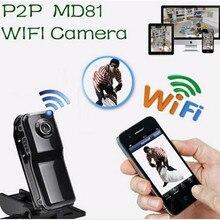 Новый Топ MD81S Wi-Fi Камера Mini DV Беспроводной IP Камера HD Micro голос видеомагнитофон мини видеокамеры Cam Камара Espia