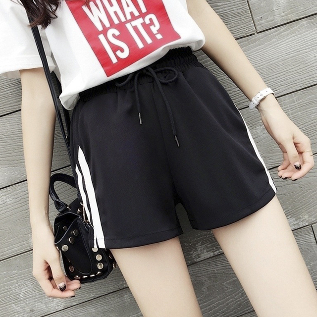 Harajuku Women Summer Sexy Shorts Women Casual Shorts Exercise And Self-cultivation  Plus Size Shorts