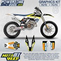 CustomTeam Graphics & Backgrounds Decals 3M Rock Stickers Kit For Husqvarna classic 2016 2017  FE TE FC TC 250 350 450 500 530