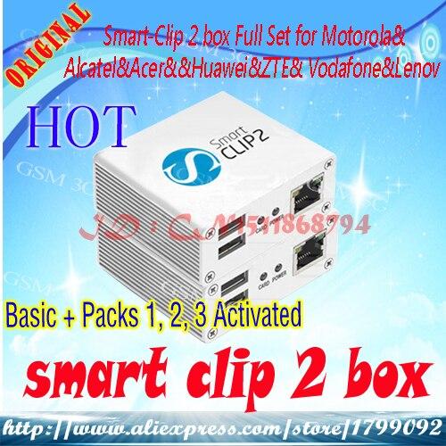 Smart - Clip 2 Box Full Set (Basic + Packs 2,3,4,5 Activated) For Motorola&Alcatel&Acer&&Huawei&ZTE& Vodafone&Leno Vo