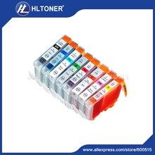 8pcs Compatible ink cartridge BCI-6 BCI-8 for PIXMA iP8500 Pro9000 I series i990 i9900 i9950