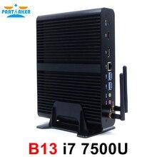 Intel core i7 gen 7th 7500u Mini PC Windows 10 HDMI DP 4K HTPC Desktop Computer with 4k HD Micro PC Intel Graphics(China (Mainland))