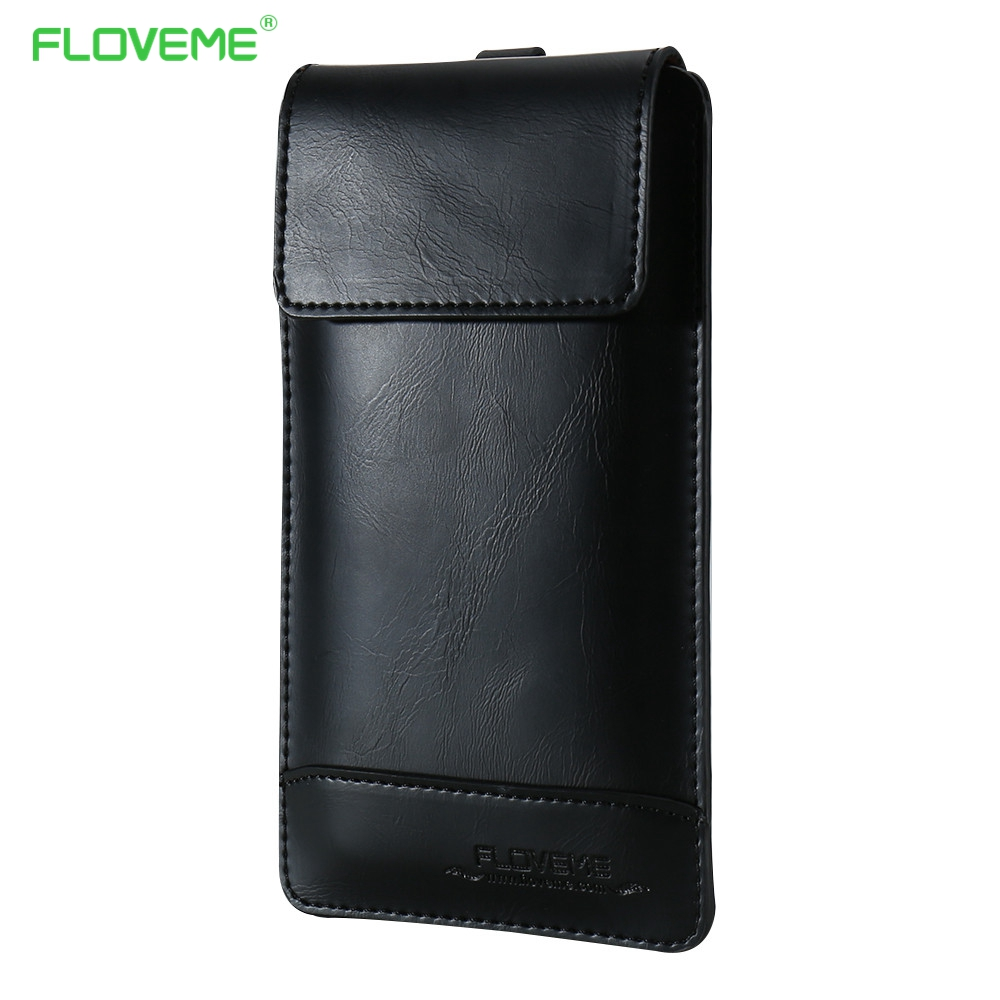 FLOVEME 4.7 Universal Wallet Case Bag For Apple iPhone 7 Housing PU Leather Holster For iPhone 6 6s Multi-function Phone Bags ...