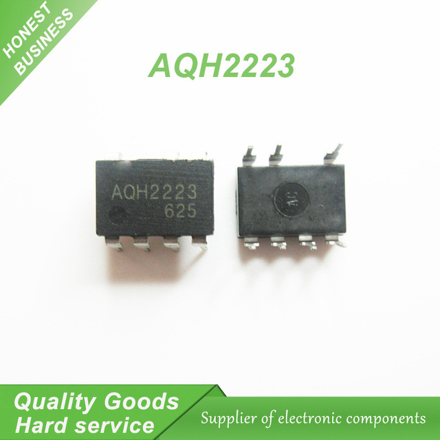 10pcslot AQH2223 solid state relay IC chip Manifold DIP7 new