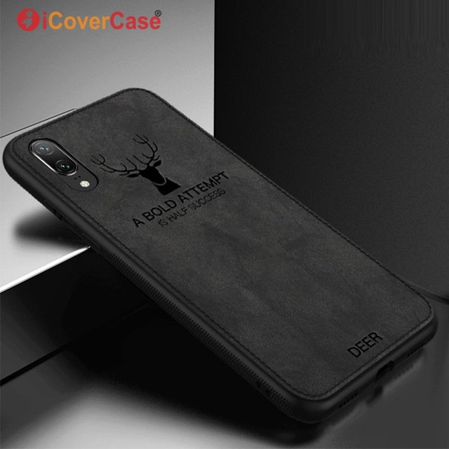 huge discount 318c5 57041 US $2.99 35% OFF|Soft Back Cover Case For Huawei Honor Play 10 V10 8 Lite P  Smart+ Y9 2018 Fabric Full Protective Phone Case Coque Etui Capinha-in ...