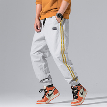 2018 New Autumn Summer men's Pants Track Pants Men Fashion Brand Mens Cargo Pants Streetwear Mens Joggers Pants M-3XL