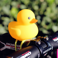 Cycling Light Small Bicycle Bell Yellow Duck Head Lights Mountain Bike Handlebar Cartoon Ring Accessories