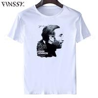 Short Sleeve Crew Neck Comfort Soft Mens John Lennon Come Together Slimfit T Shirts XXXL