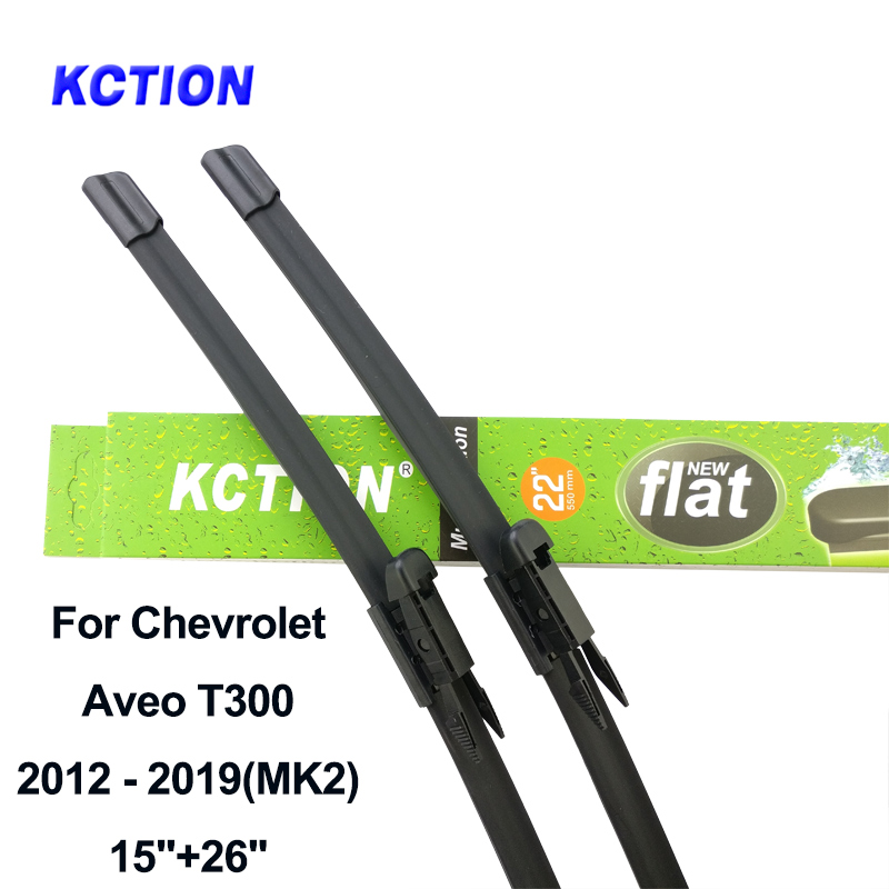 Windshield Hybrid front wiper blade windscreen wiper car accessories for Chevrolet Aveo T300 MK1 MK2 Fit Hook Pinch Tab Arms in Windscreen Wipers from Automobiles Motorcycles