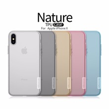 NILLKIN Ultra Thin Transparent Nature TPU Case For iPhone Xs Max XR 6 7 8 Plus 5 5s 5se Clear Soft Back Cover For iPhone x Case