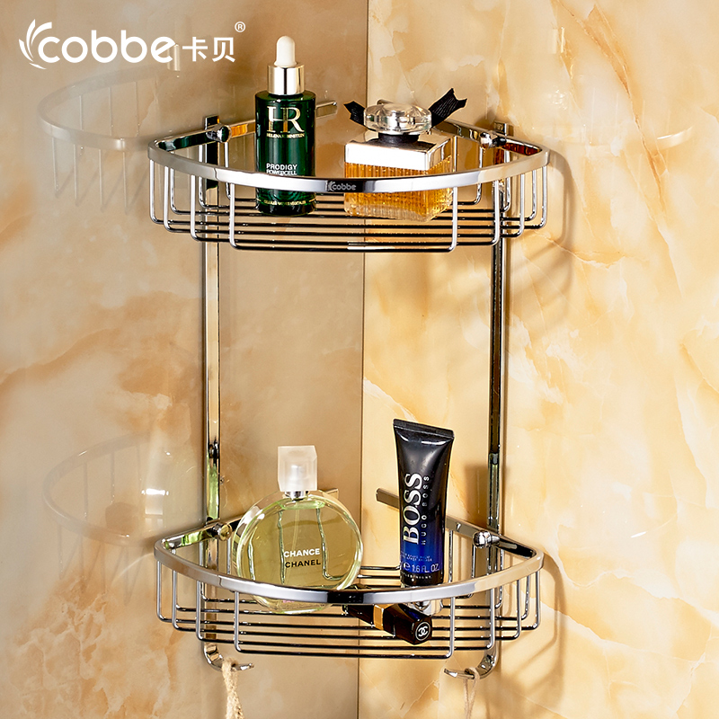 Modern Towel Rack Mirror Wall Mounted Towel Holder Double Layer ...