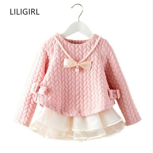 70571d42c 2018 Spring Winter Kids Brand Dresses Baby Girls tutu Dress Elegant ...