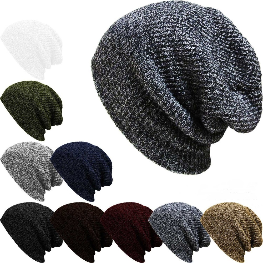 2015 New Autumn Winter Men Women Headwear Hip Hop Caps Knitted Beanies Skullies Gorros Hats