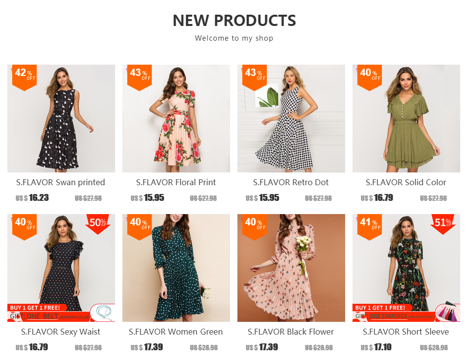 c6698fedc57a4 S.FLAVOR Spring Summer Floral Printed Patchwork Dress Women Off Shoulder  Sexy Party vestidos Female Slash Neck Casual Dresses