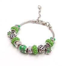 bc3fffda05d3 Sue Phil nueva pulsera y brazalete mujeres ajustable verde Azul Cadena  envío de la gota