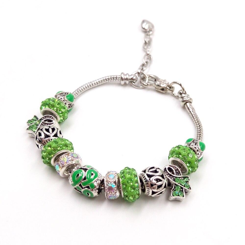 Sue Phil Nova Charm Bracelet & Bangle Mulheres Pulseira Cadeia Ajustável Verde Azul Transporte da gota