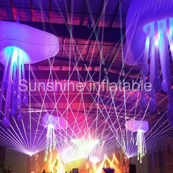 New designed party wedding decorative inflatable jellyfish balloon led decoration inflatable hanging balloon for party eventNew designed party wedding decorative inflatable jellyfish balloon led decoration inflatable hanging balloon for party event