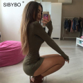 Julissa Mo S-XXL Plus Size Sexy Women Dress 2016 New Summer Autumn Split Mini Slim Bodycon Bandage Party T Shirt  Dresses