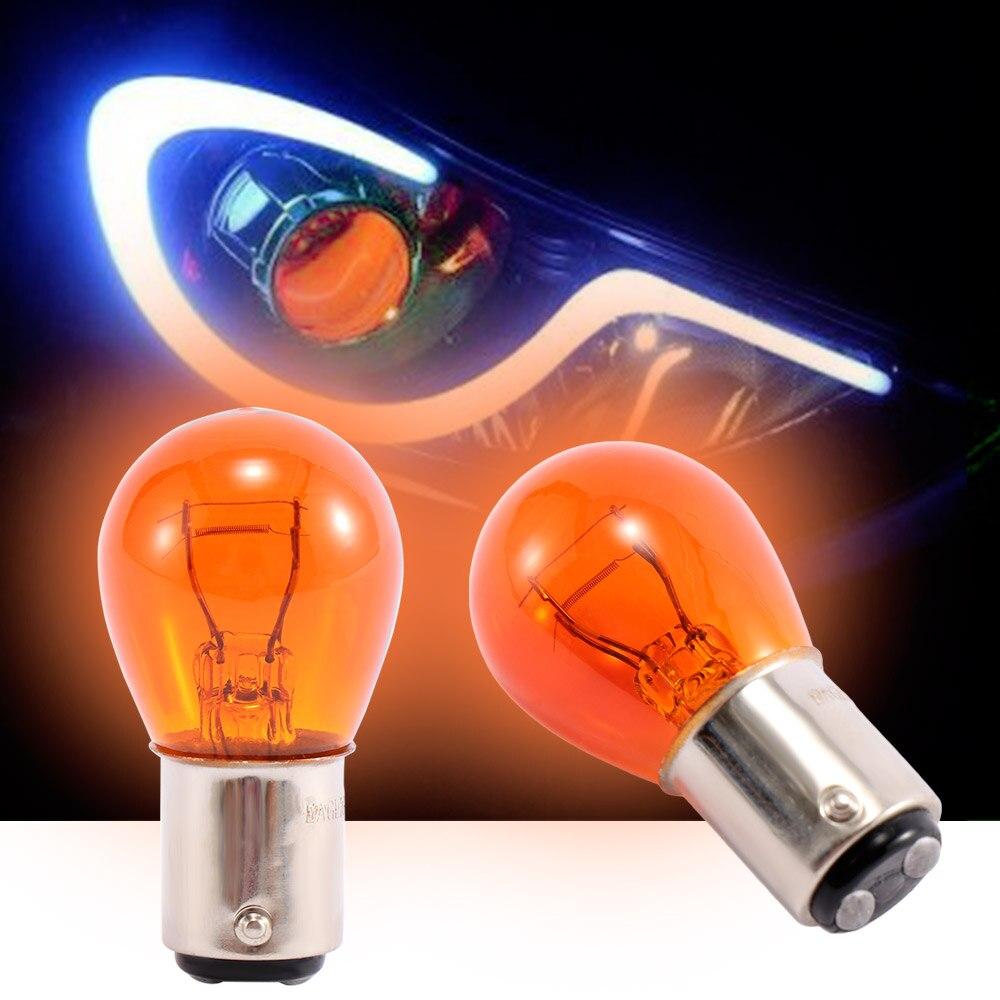 Auto Light Signal Lamp S25 5W 1157 Bay15d DC 12V Car Tail Lamp Braking Light Stop Indicator Bulb