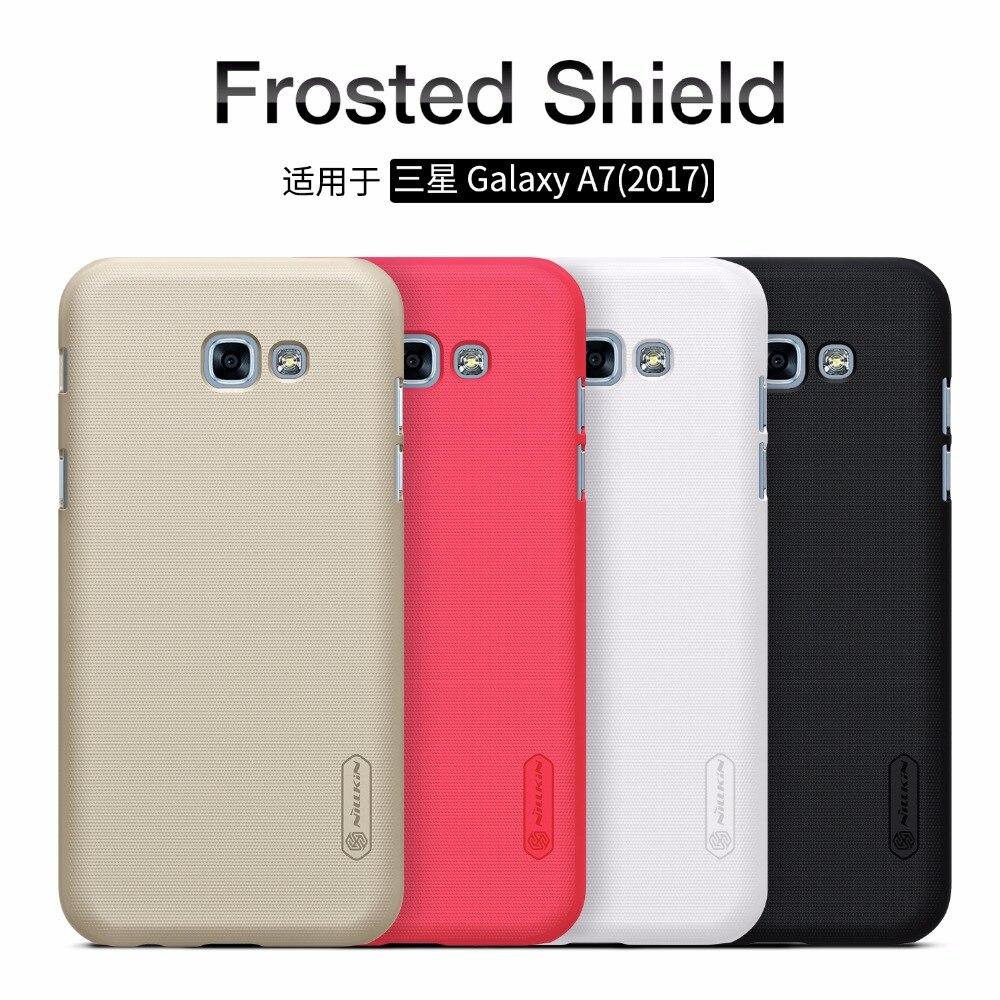 Galleria fotografica Case For Samsung Galaxy Galaxy A7 2017/A5 2017 A520F A720F NILLKIN Super Frosted Shield matte back cover