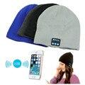 Smart Wireless Bluetooth Del Auricular Altavoz Mic Suave Caliente de la Gorrita Tejida Sombreros